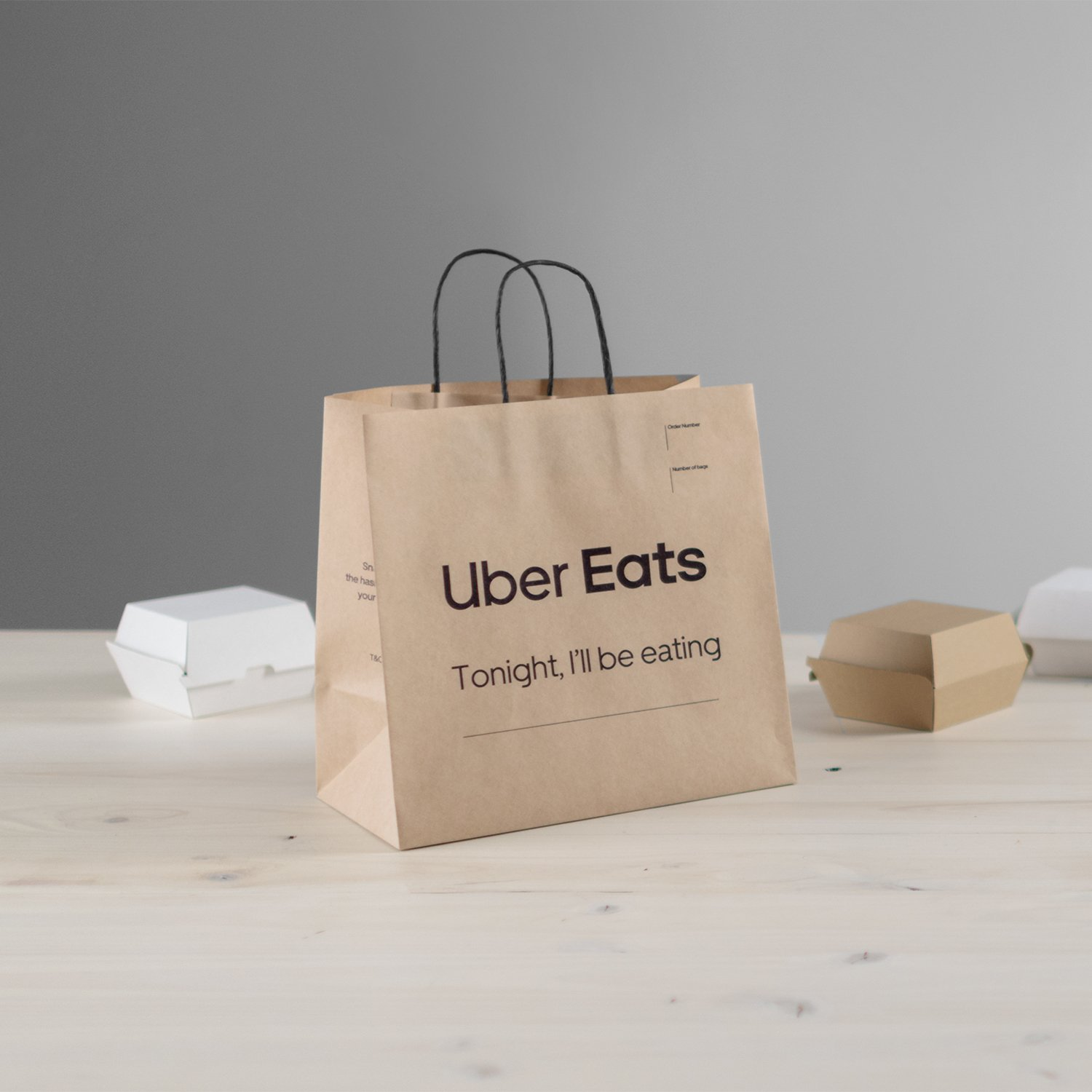 THE UBER EATS DELIVERY BAG